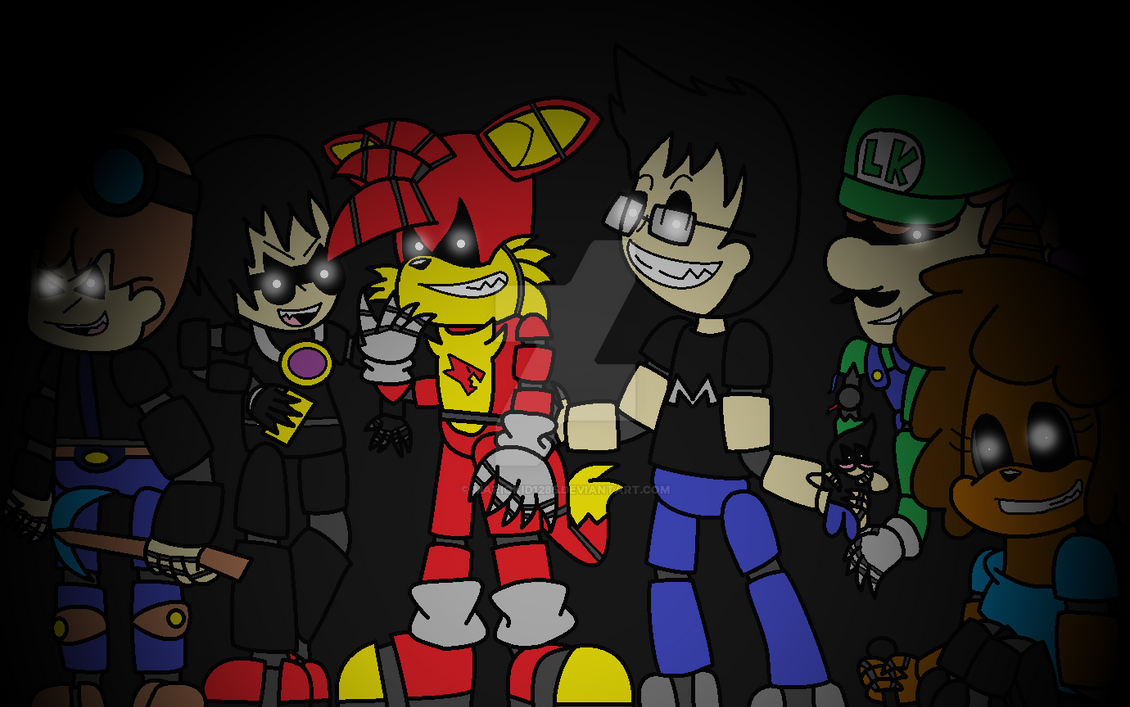 Five Nights At YouTube By MarioKid1285 On DeviantArt