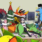 TPP BB2 : Cly's Christmas Tree by marogod
