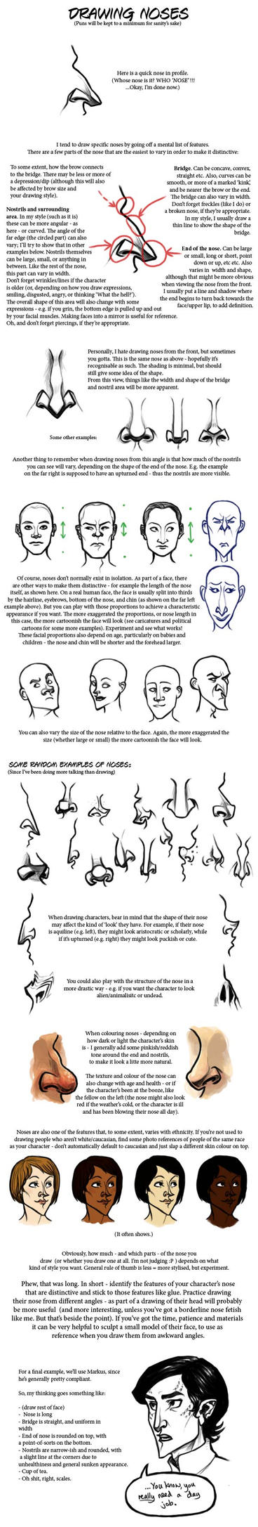 Noses tutorial by rosynose