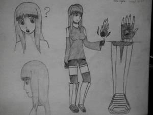 Karin Kagura Concept Art #2
