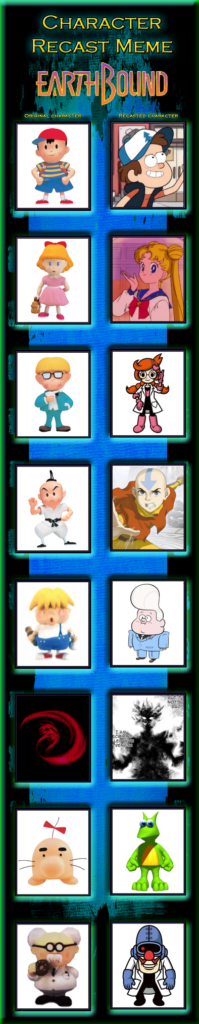 Recast Meme - EarthBound by DragonKazooie89