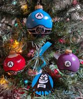 Aquabats Christmas Ornaments