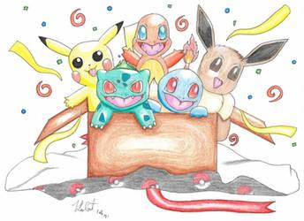 Pokemon 25th Present