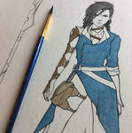 Character design WIP by LeahLyn4