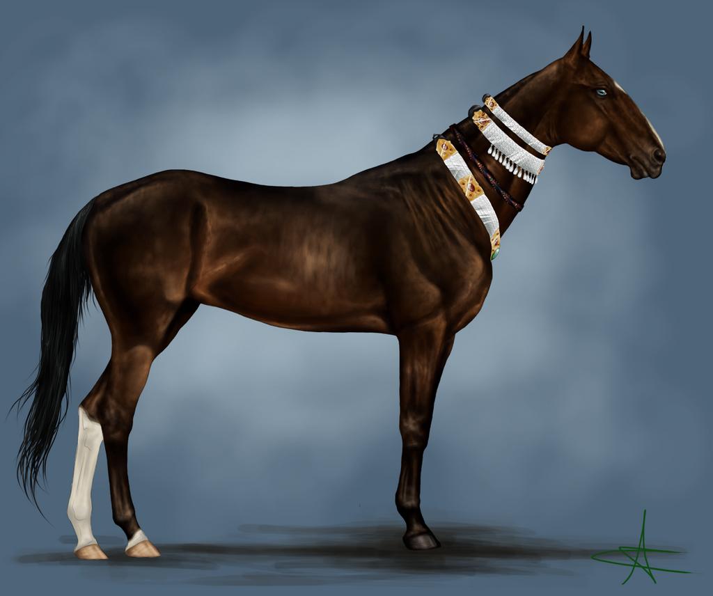 Azazeel (Ref Image) by CalyArt