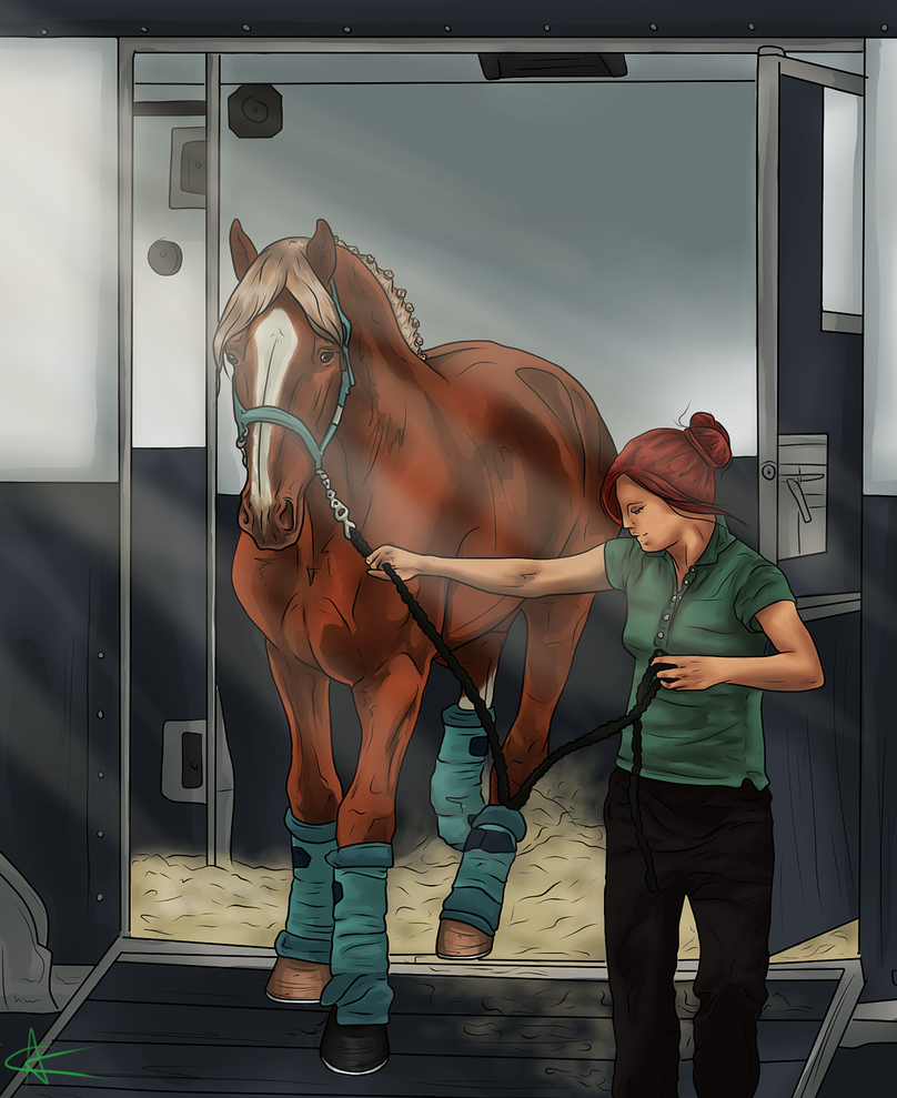 Arriving at WS by CalyArt