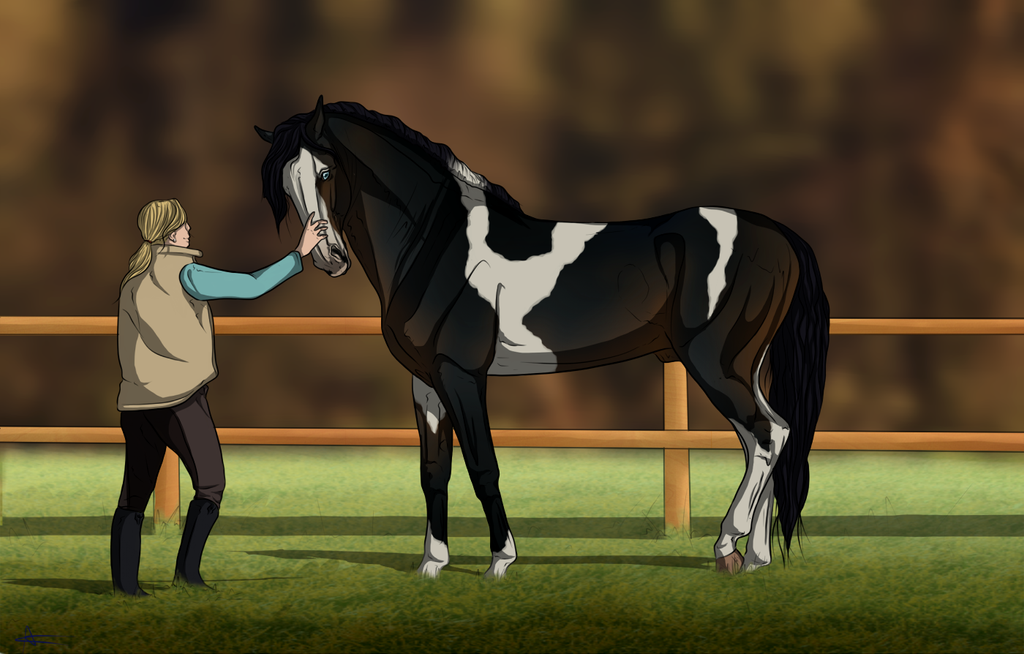~ Meeting the Wild One ~ by CalyArt