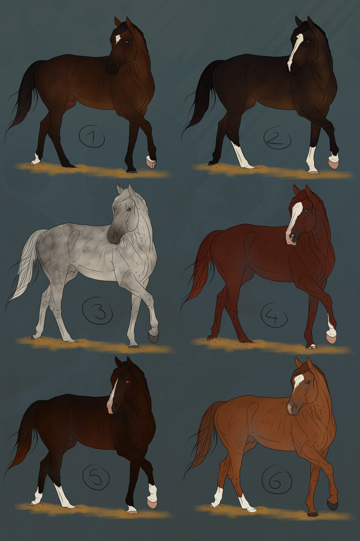 ~ Thoroughbred Sales Batch ~ CLOSED by CalyArt
