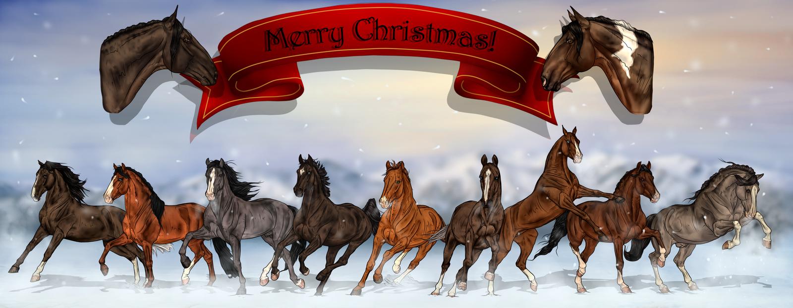 ~ Merry Christmas ~ by CalyArt