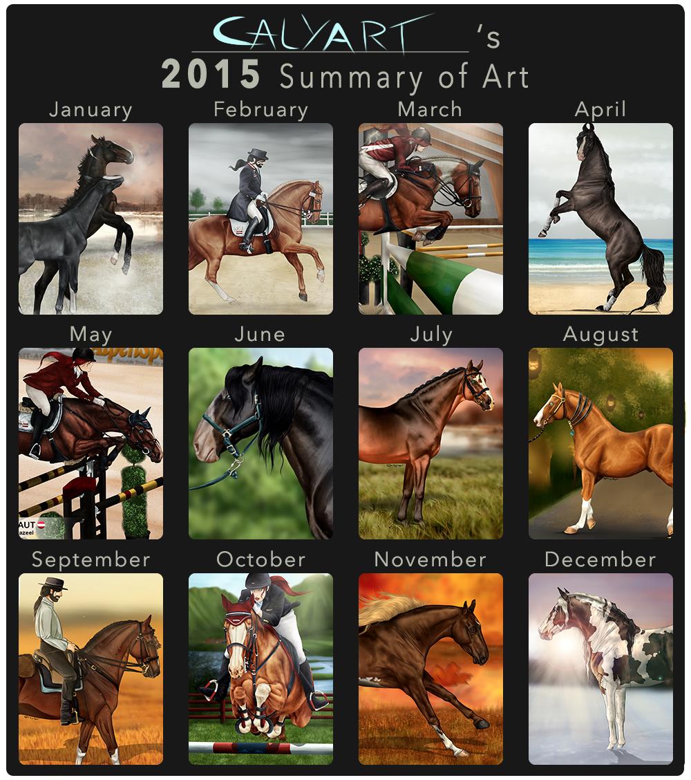 ~Summary of Art 2015~ by CalyArt
