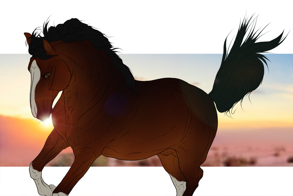 ~Sunset Power~ by CalyArt