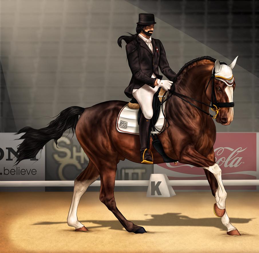 ~AUSE Qualifier One - Dressage~ by CalyArt
