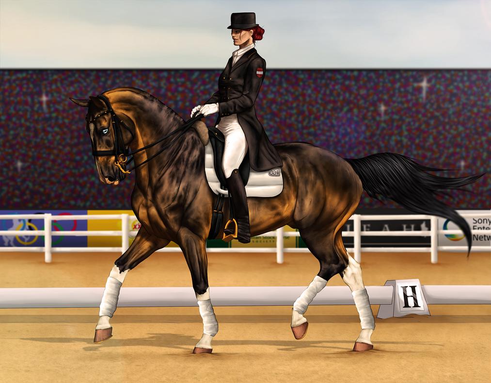 ~AUSE Qualifier One - 3DE Dressage~ by CalyArt