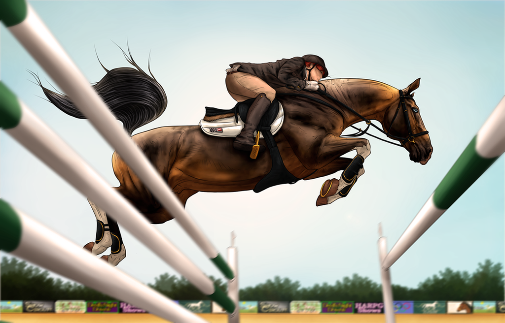 ~AUSE Qualifier Two - 3DE SJ~ by CalyArt