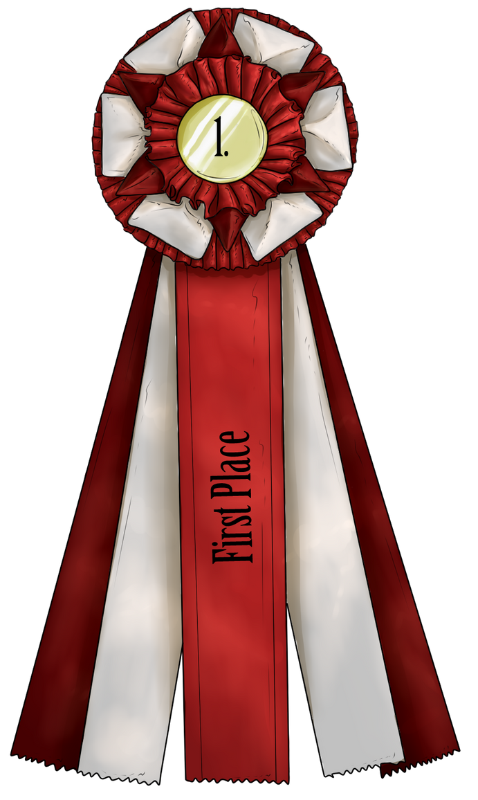 Show Ribbon - First Place by CalyArt
