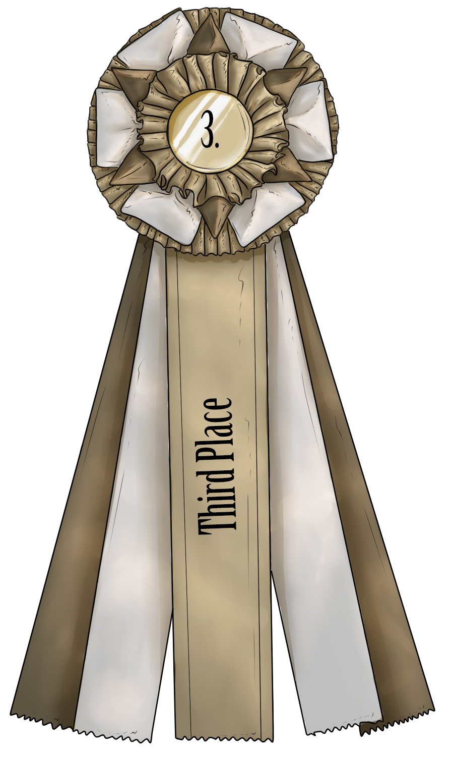 Show Ribbon - Third Place by CalyArt