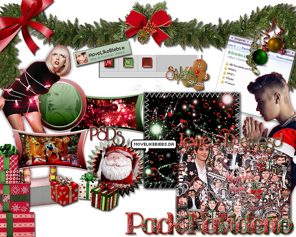 +Merry Christmas ~ Pack by MoveLikeBiebs