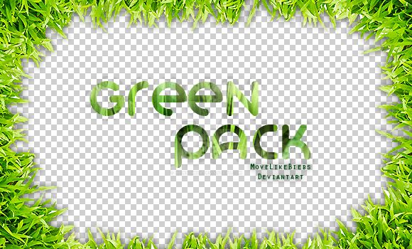+Green Pack by MoveLikeBiebs