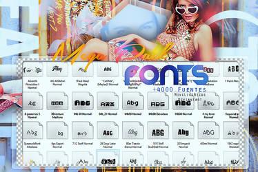 +Megapack de Fonts - 3900 Watchers by iBeInsomnia