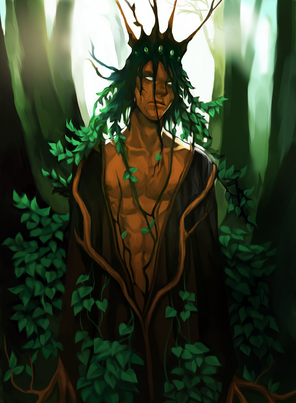 The Tree King by lacrimode