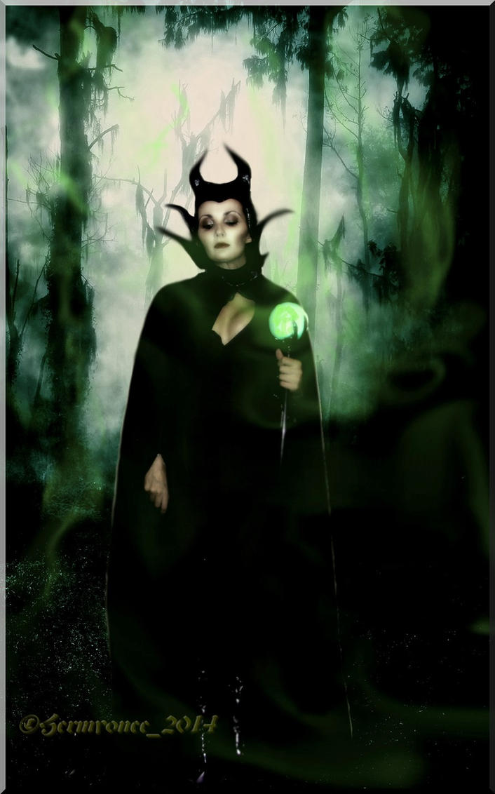 the dark forest Maleficent II by Hermyonee