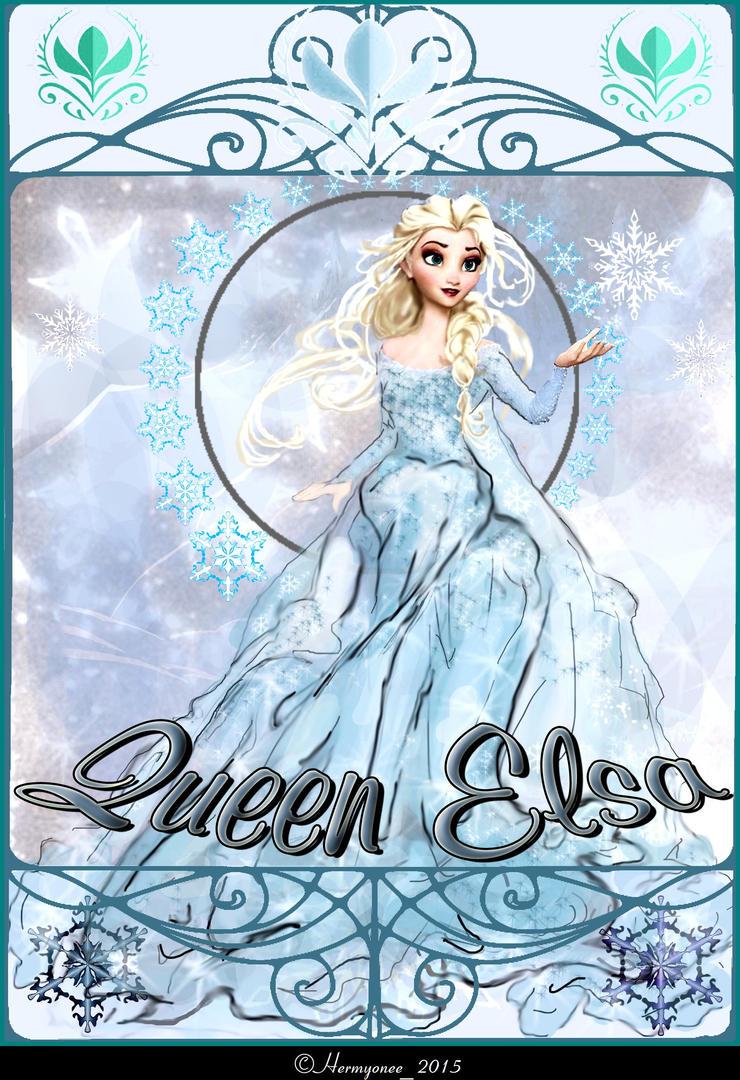 Elsa Queen Frozen by Hermyonee