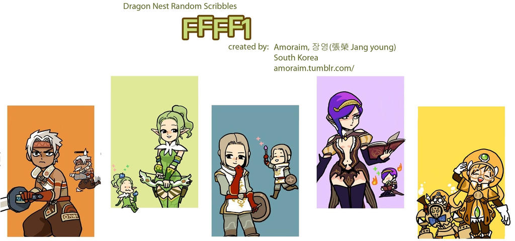 Dragon Nest Korean Webcomic FFFF1 : DragonNest