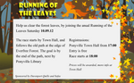Running Of The Leaves commercial poster