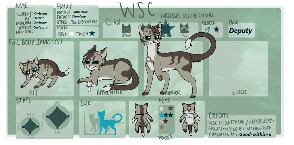 Owlsong WSC NEW Ref by good-within-u