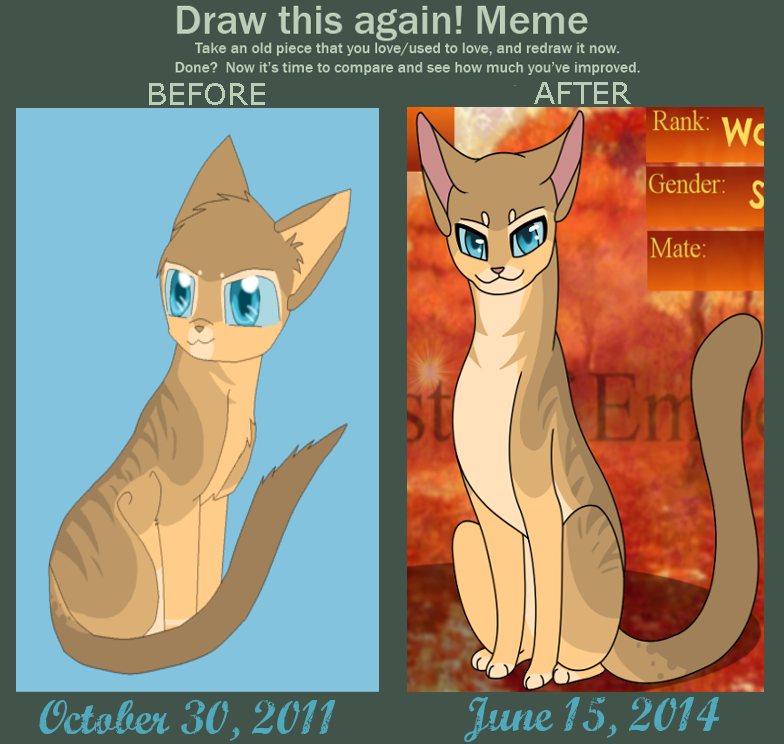 Heatherfall Before and After Did I improve by good-within-u