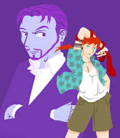 That Red Tie - Reeve x Reno by R-Kasahara