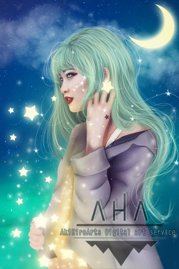 Stars by AkiHiroArt