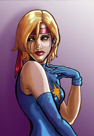 Chicas de Marvel Comics: Dazzler