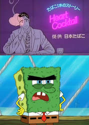 Abrasive SpongeBob hates Heart Cocktail
