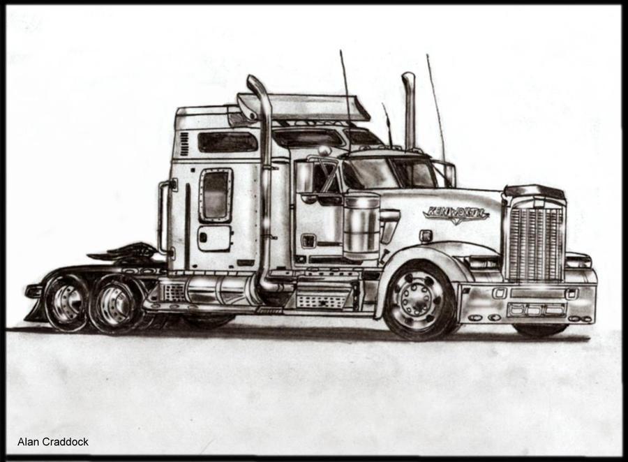 Kenworth Truck by klattu on DeviantArt