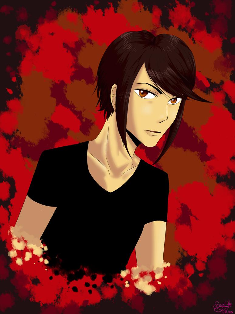 APH: Autumnboy by SkyOfTheCenturies
