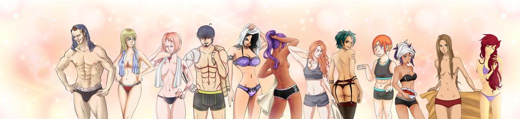 One Piece - OC - Undie Collab by SkyOfTheCenturies