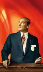 Ataturk Renkli Fotograf by abaq