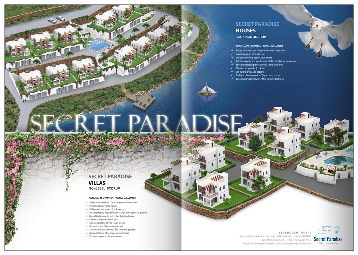 Secret Paradise - Reklam �al��mas�.