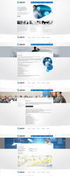 utecno web interface design by abaq