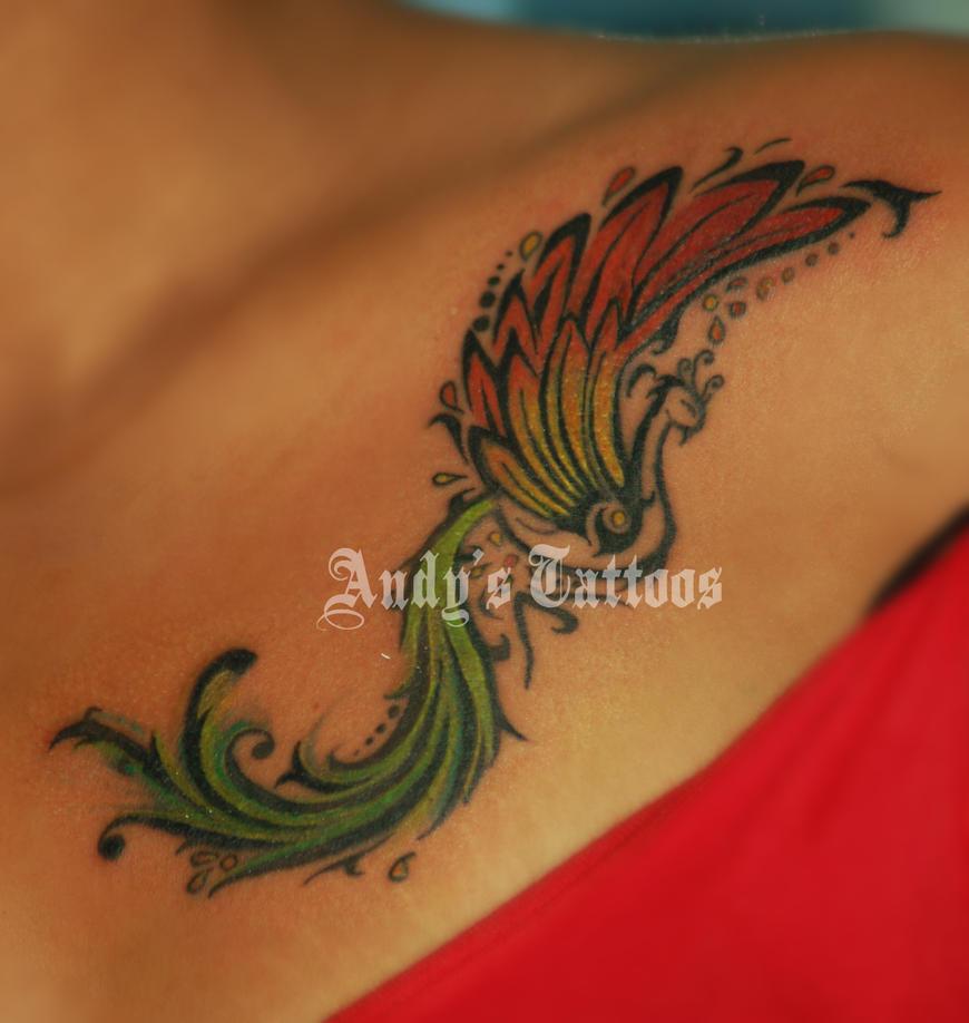 pin tattoos more firebird phoenix tattoo on pinterest. Black Bedroom Furniture Sets. Home Design Ideas