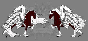 Imperial Red-Pegasus Hades and Persephone