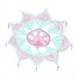 Geminid's Mandala