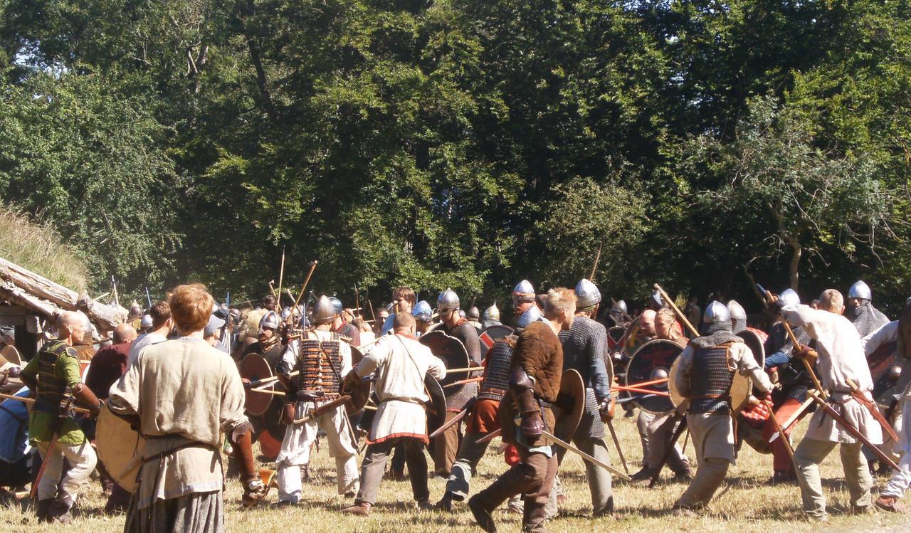 Viking battle by octu140