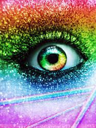 Rainbow Eye by dream-shot
