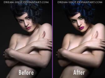 Retouch Before-After by dream-shot