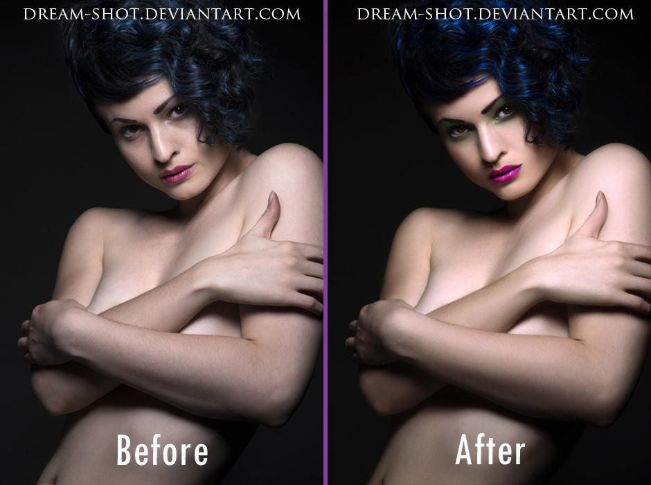 Retouch Before-After