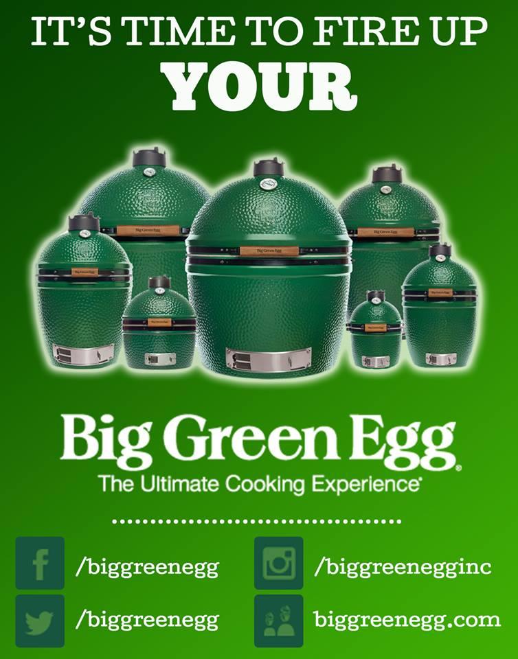 Big Green Egg by Carcoal