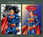 Draw This Again: Superman by ChrisTsuda