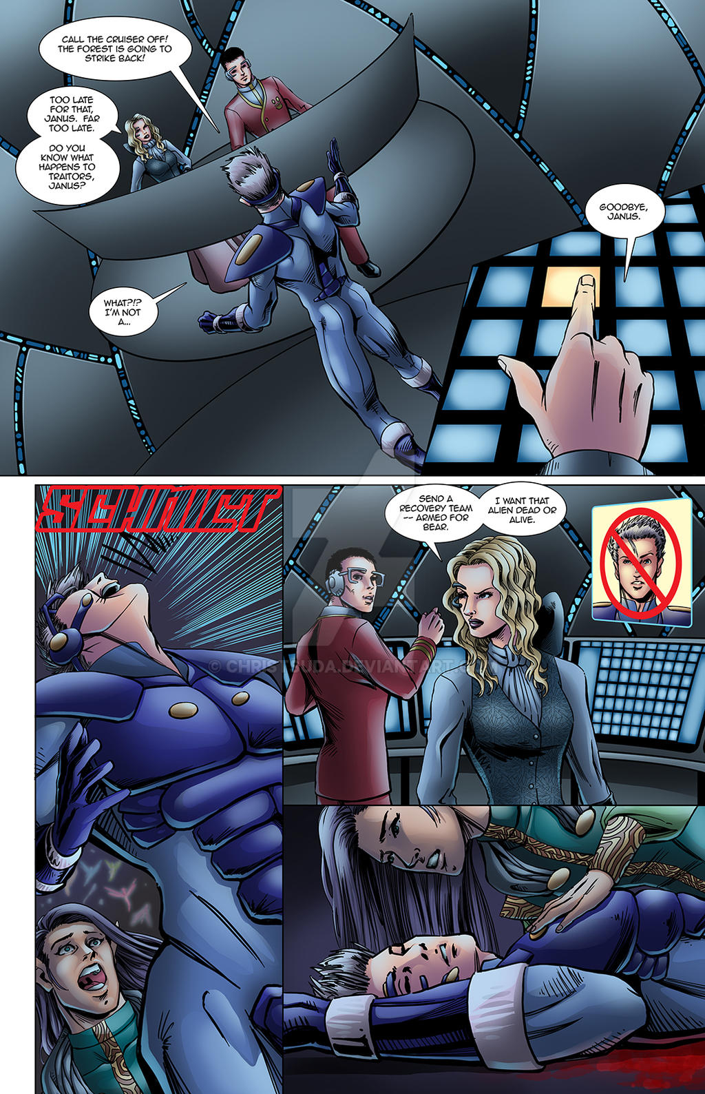 Lineage Ch1 Is2 015 by ChrisTsuda